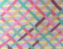 Kaffe Fassett Mad Plaid Mauve